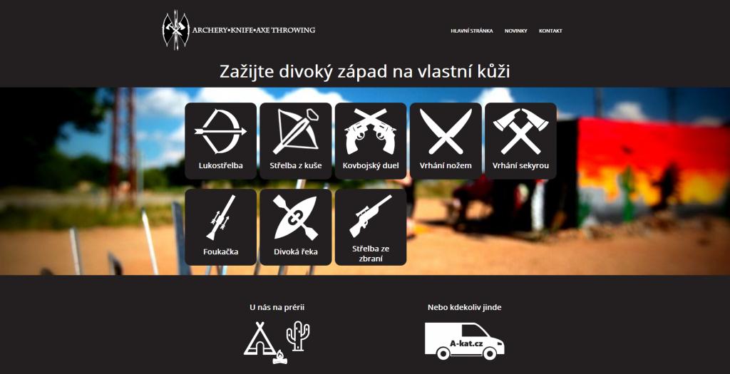 Web na WordPressu od Aleše Sýkory